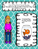 Out of My Mind Novel Unit Bundle- Student guide and teacher key