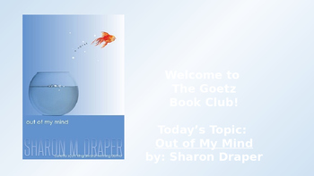 Out of My Mind (Sharon Draper) Book Club Discussion/Trivia