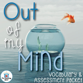 Out of My Mind Vocabulary & Assessment Bundle