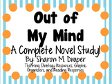 Out of My Mind by Sharon M. Draper - A Complete Novel Study!