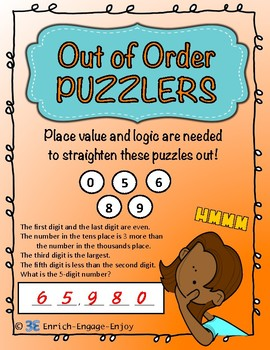 Out of Order Puzzlers