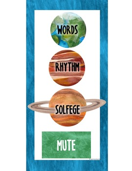 Out of This WORLD Music Room Theme - Voice Remotes, Rhythm and Glues