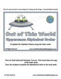 Out of This World Alphabet Order - Alphabetical Order -  P