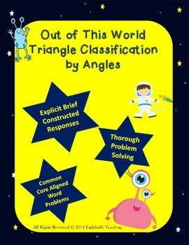 Out of This World Classifying Triangles by Angles Mini Unit