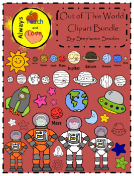 Out of This World: Outer Space Clipart Bundle