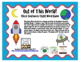 Out of This World! Cloze Sentence Practice with Sight Words
