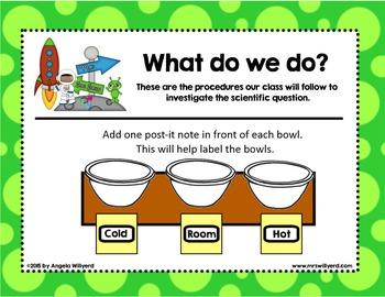 Valentine's Day - Conversation Heart Science Lab - Grades 3-5 - SMART Bd