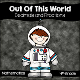 Out of This World Decimal & Fraction Math Centers