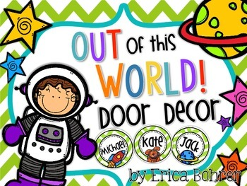 Door Decor: Out of This World!