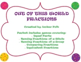 Out of This World Fractions Game Pack