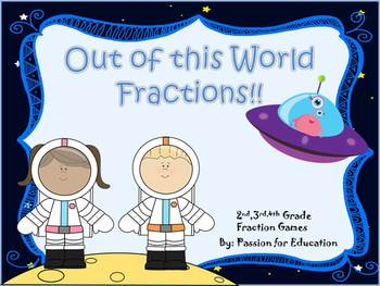 Fractions are Out of This World Smart Board Unit!