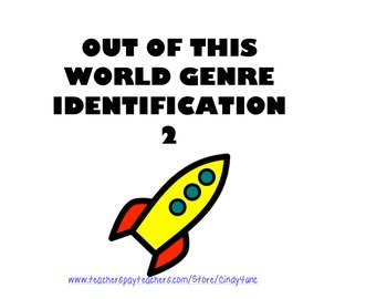 Out of This World Genre Identification Part 2
