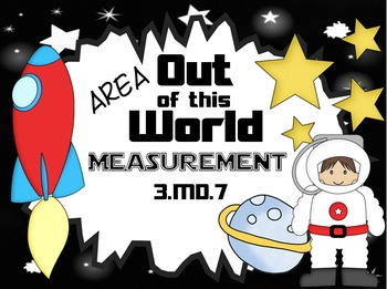 Out of This World Measurement PPT Game: Area 3.MD.7