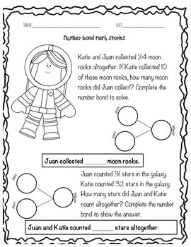 Out of This World Number Bonds (Common Core Aligned!)