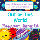 Out of This World! Outer Space Classroom Theme Decor Kit- EDITABLE