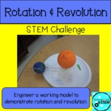 Out of This World STEM Challenge with Revolution and Rotation- Georgia Science
