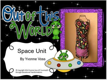 Out of This World Space Unit (Literacy and Math Activities)