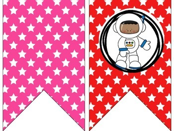 Out of This World Space/Alien Bunting