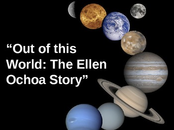 Out of This World: The Ellen Ochoa Story - Treasures Reading - Sequencing