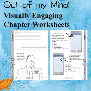 Out of my Mind A Complete Novel Study