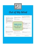 Out of My Mind Complete Literature and Grammar Unit