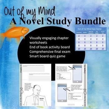 Out of my Mind Novel Study Bundle