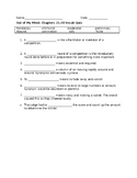 Out of my Mind ch 21-28 vocabulary quiz