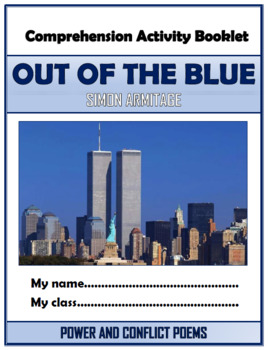 Out of the Blue Comprehension Activities Booklet!