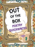 Out of the Box Poetry Quickwrites