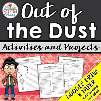 Out of the Dust: Reading Response Activities and Projects