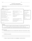 Out of the Dust: Constructed Response Assessment, CC align