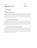 Out of the Dust Guided Reading Questions