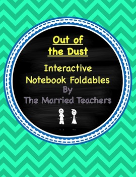 Out of the Dust Interactive Literature and Grammar Notebook Foldables