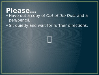 Out of the Dust Symbolism Stroll
