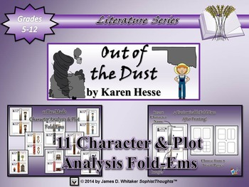 Out of the Dust by Karen Hesse Character and Plot Analysis Fold-Ems