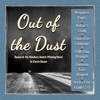 OUT OF THE DUST   Out of the Dust Unit   Out of the Dust Novel Study