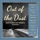 OUT OF THE DUST by Karen Hesse: Unit Plan, Novel Guide, Lessons, Assessments