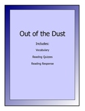 Out of the Dust novel lessons - vocabulary, quizzes, readi