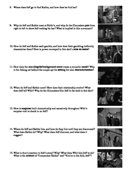 Out of the Past Film (1947) Study Guide Movie Packet