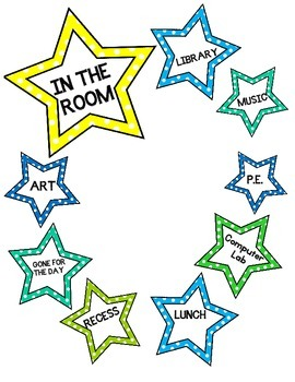 Out of the Room - Door Sign