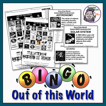 Out of the World - Solar System Bingo