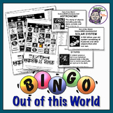 Out of the World - Solar System & Moon Bingo