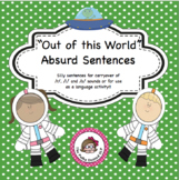 "Speech Articulation Carryover:  ""Out of this World"" Absurd Sentences"
