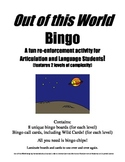 Out of this World Bingo A Speech and Language Re-enforceme