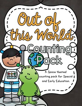 Out of this World Counting Pack 1-10