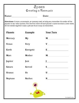 Out of this World: Creative Writing Prompts & Poetry for Space Unit (5 Sheets)