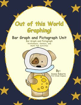 Out of this World Graphing!  Bar Graph and Pictograph Unit
