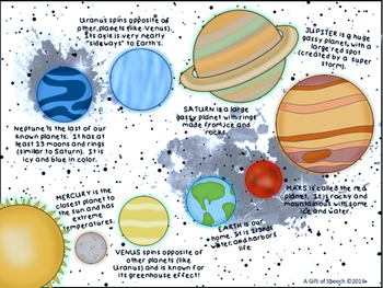 Out of this World Language Freebie