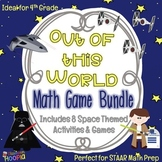 Out of this World Math Game Bundle: 8 Space Themed Games