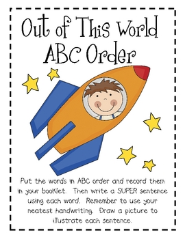 Out of this World Math & Literacy Centers